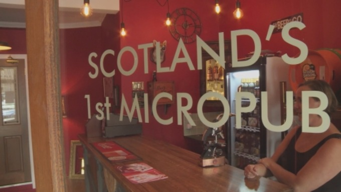 Scotland's first micropub opens in the Borders