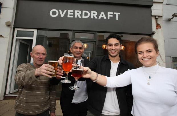 Overdraft Micropub opens in former bank