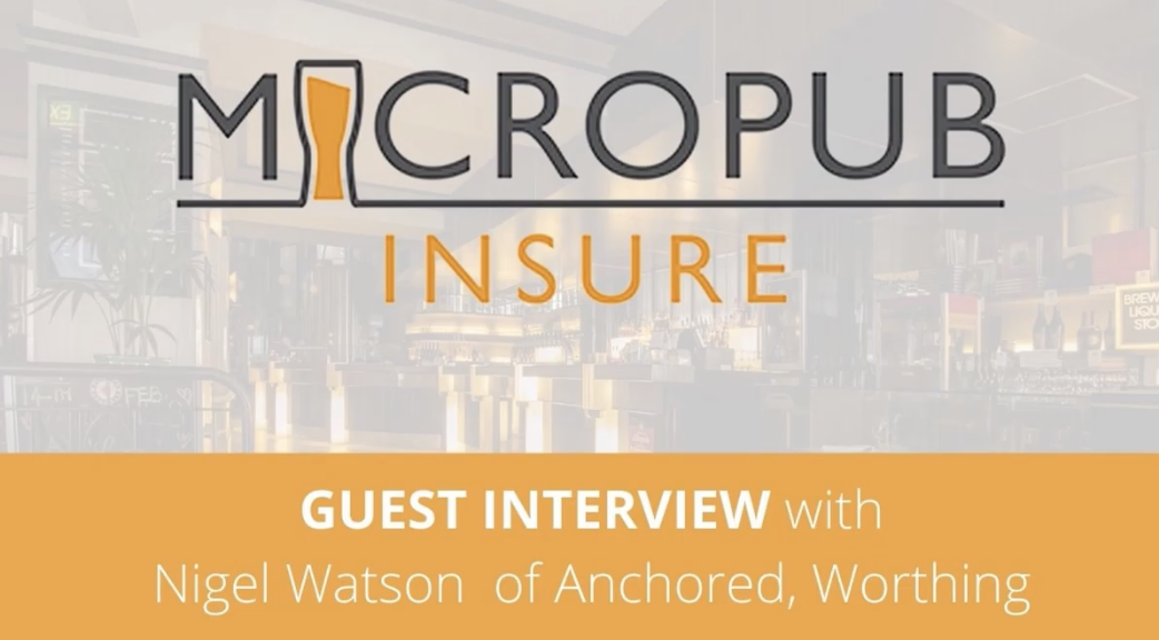 Full guest interview with Micropub campaigner Nigel Watson