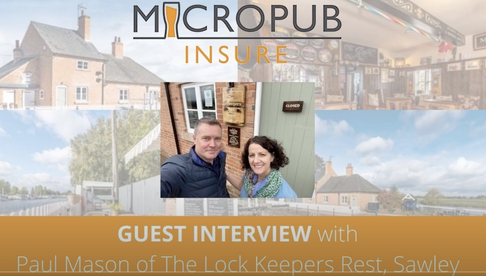 Guest Interview with Paul Mason, Owner of The Lock Keepers Rest in Sawley